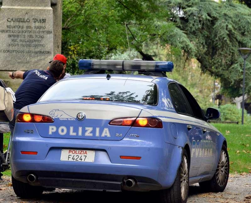 Polizia, controlli ai Giardini Margherita