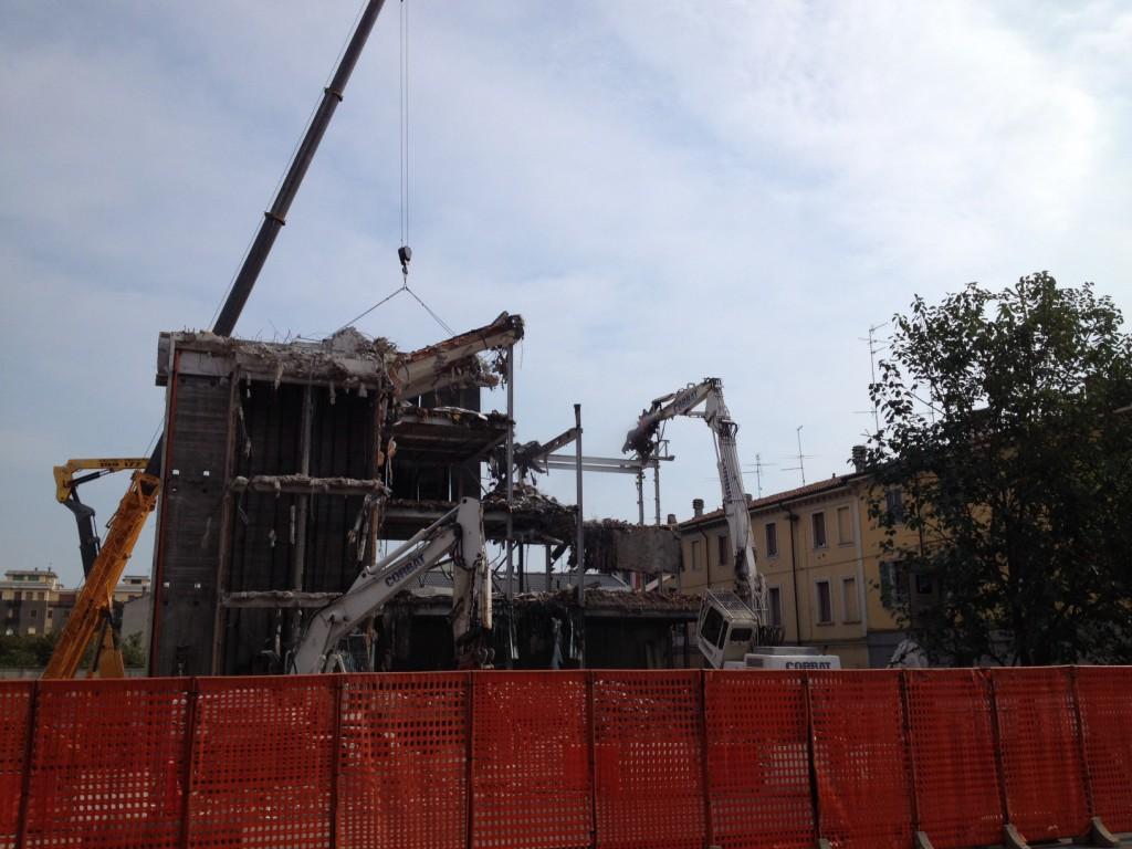 palazzo ex enel demolizione