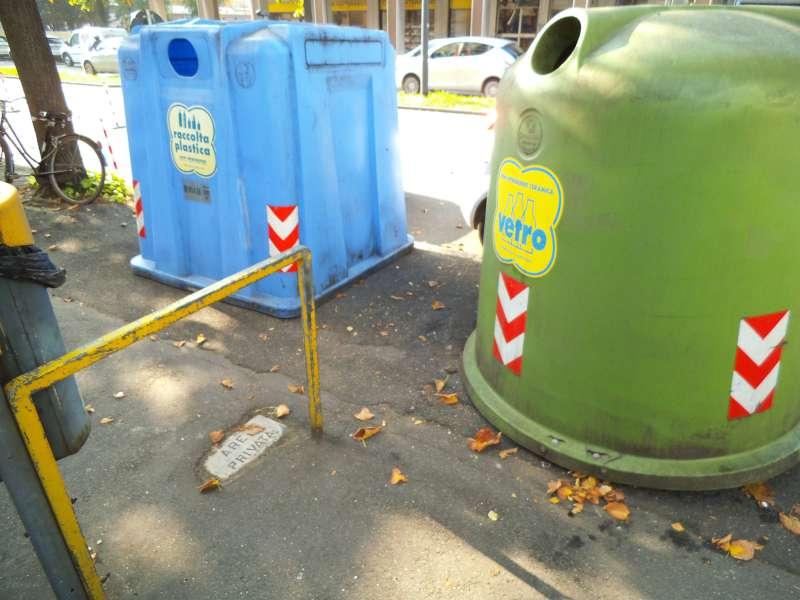 campane rifiuti