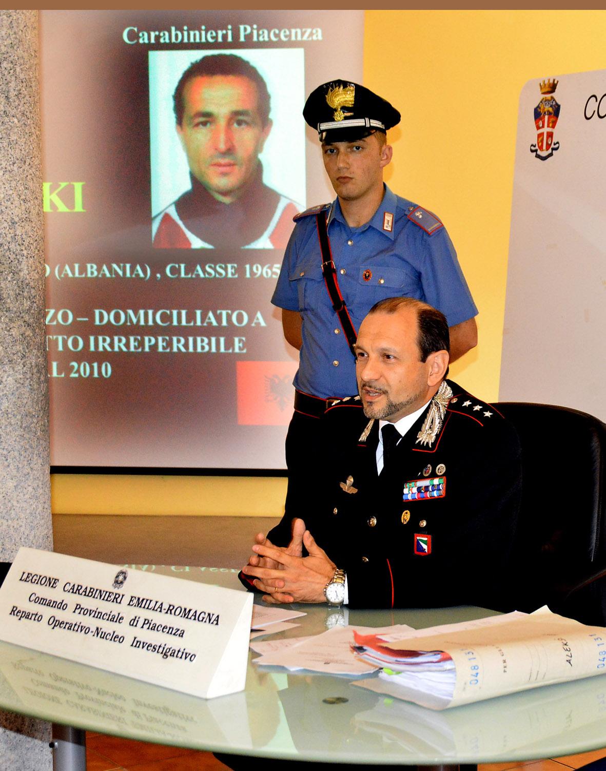 Carabinieri latitante albanese arrestato