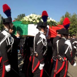 """Ultimo saluto a Di Pietra. Il Ministro: """"Una tragedia su cui piangiamo"""""""