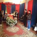 Di Pietra, omaggio alla camera ardente. Il Ministro al funerale