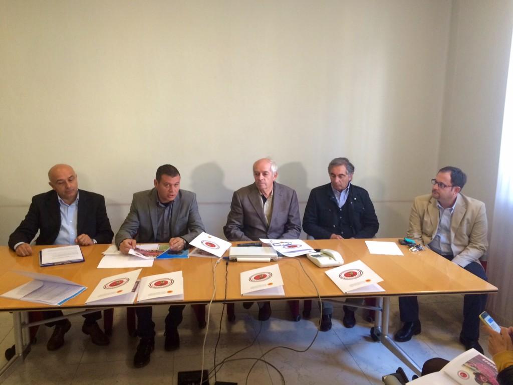 Nella foto, da sinistra, Castagna, Ghilardelli, Belli, Grossetti e Parma (9)