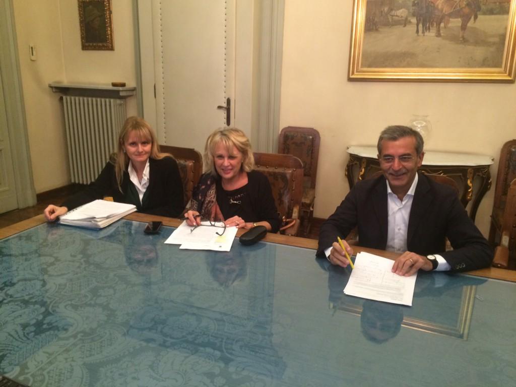 Nella foto, da sinistra, Fagnoni, Moreni e Trespidi (5)