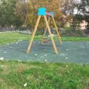 Bastione Campagna, inciviltà al nuovo giardino invaso dai rifiuti