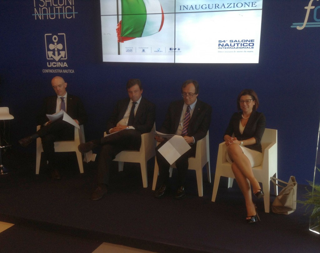 Paola De Micheli al Salone Nautico di Genova