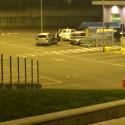 Assalto a un discount alla Galleana: 4 ladri in fuga dentro lo stadio. Video
