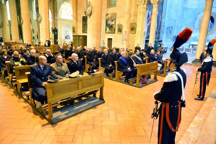 Virgo Fidelis messa carabinieri in S.G.Canale