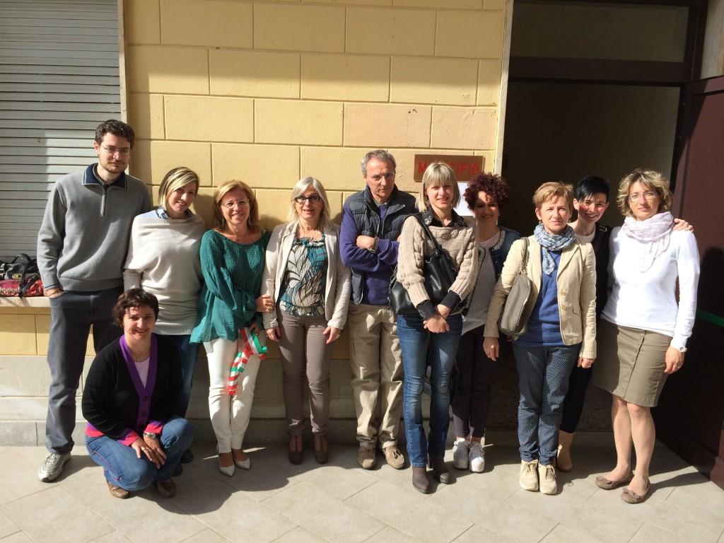 Infermieri del centro prelievi di Travo