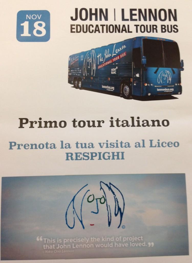 Lennon bus