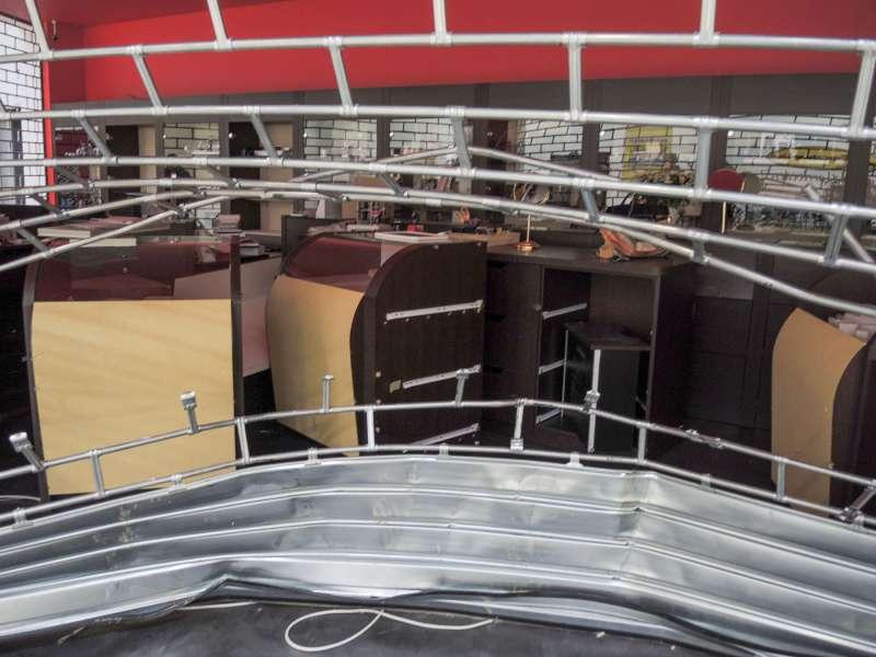 Spaccata al Mercatone Uno di Rottofreno (1)