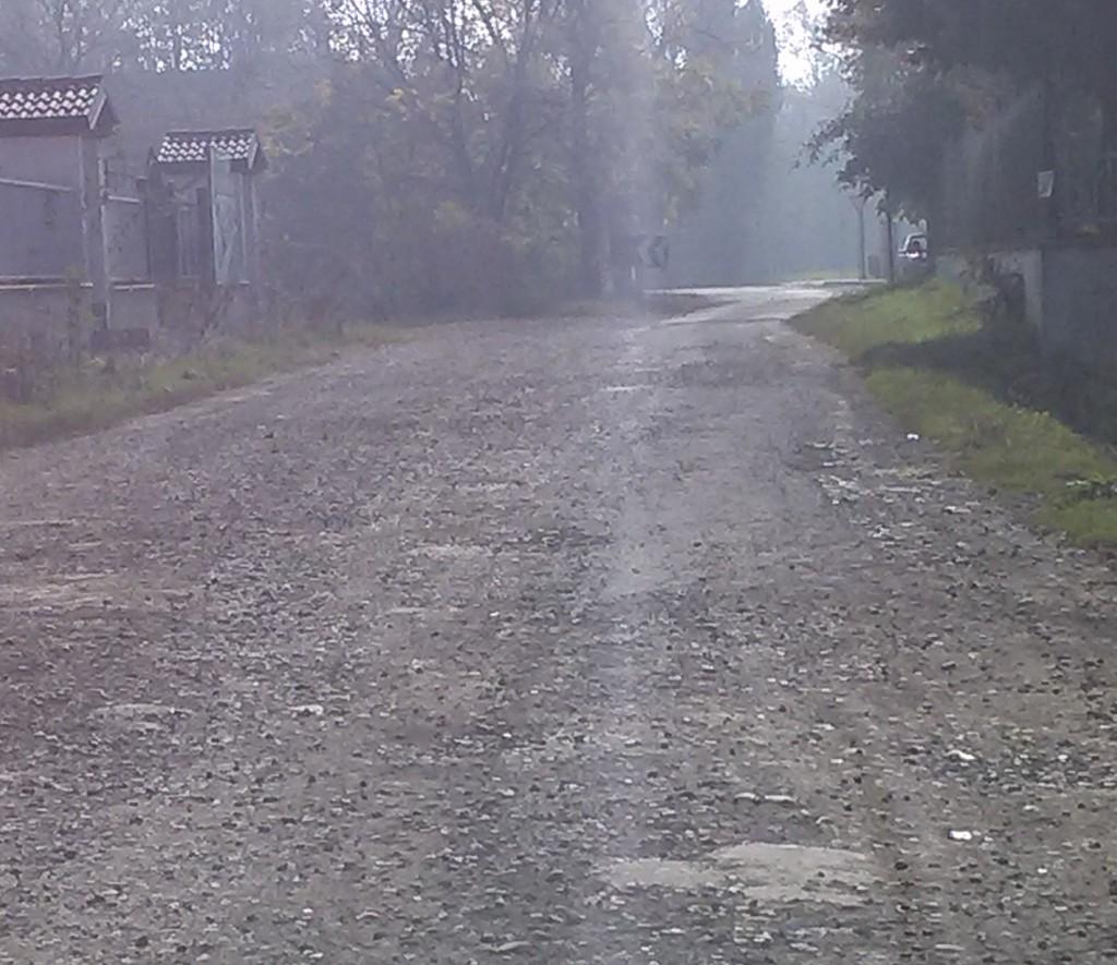 Strada per il cimitero di Pittolo (1)