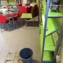 Piove dal tetto nella biblioteca Farnesiana, danneggiati libri per ragazzi