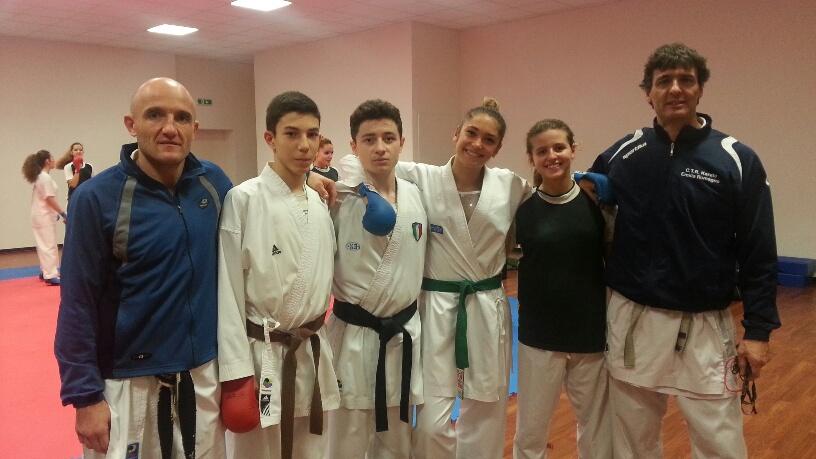 Karate: tre podi azzurri per Piacenza Farnesiana. Sada verso gli europei