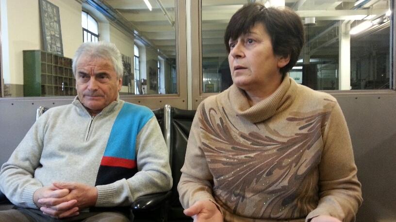 Franco Croci e Mariuccia Zanrei