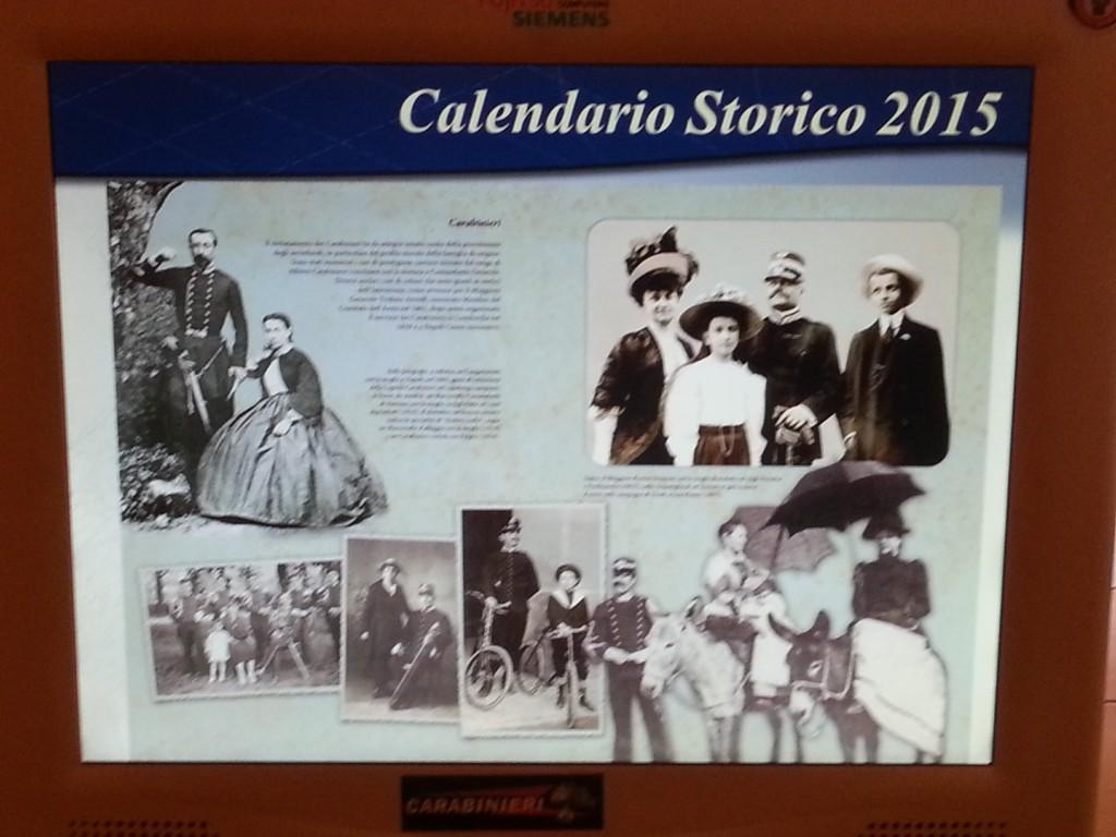 Calendario Carabinieri (2)
