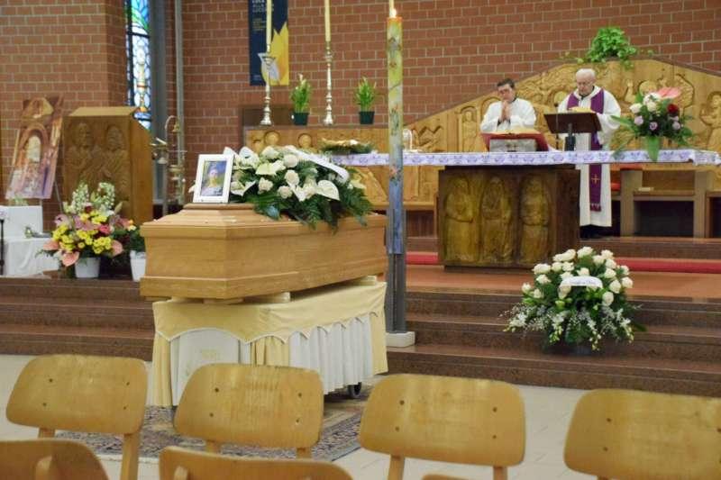 Funerali di Elena Draghi