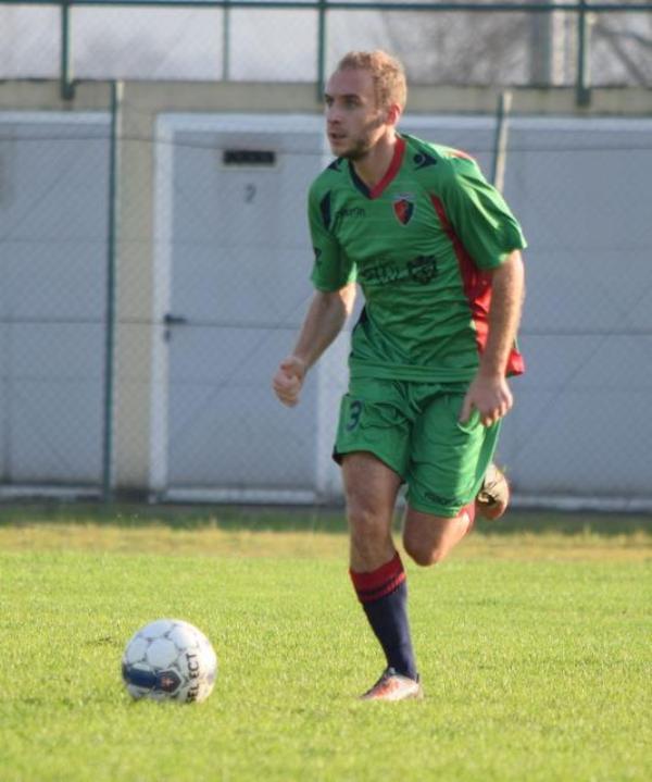 Matteo Baldini, esterno mancino della Borgonovese
