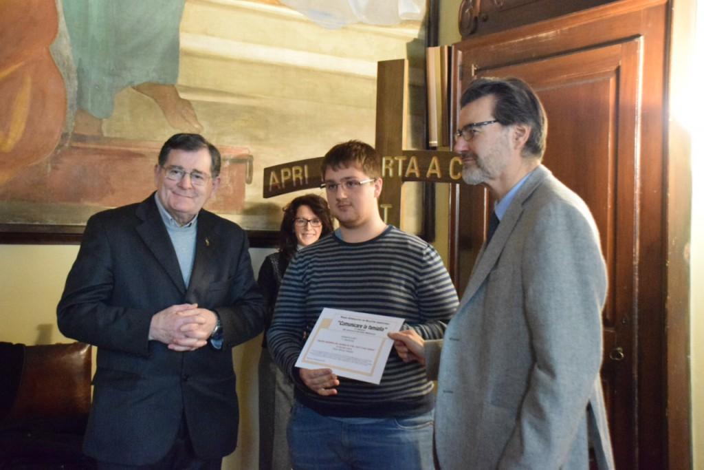 Curia giornalismo -- Caorso, riceve premio Gianluca Casaroli