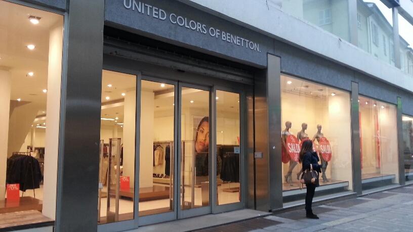 Benetton chiude il 28 febbraio a casa sette dipendenti for Piani casa negozio