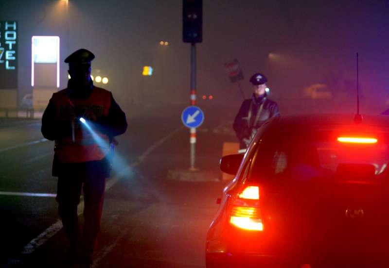 Controlli dei Carabinieri di notte (14)