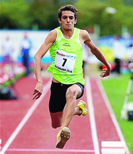 Andrea Dallavalle in azione