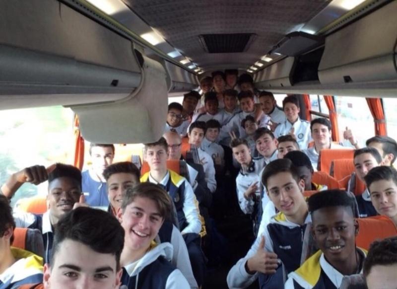 I Giovanissimi Nazionali di Inter e Parma in viaggio verso Pescara