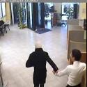 In trasferta a Brescia per una rapina in banca: arrestati. Le immagini del colpo