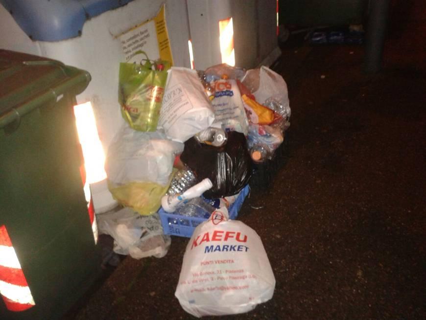 rifiuti fuori dai cassonetti (3)