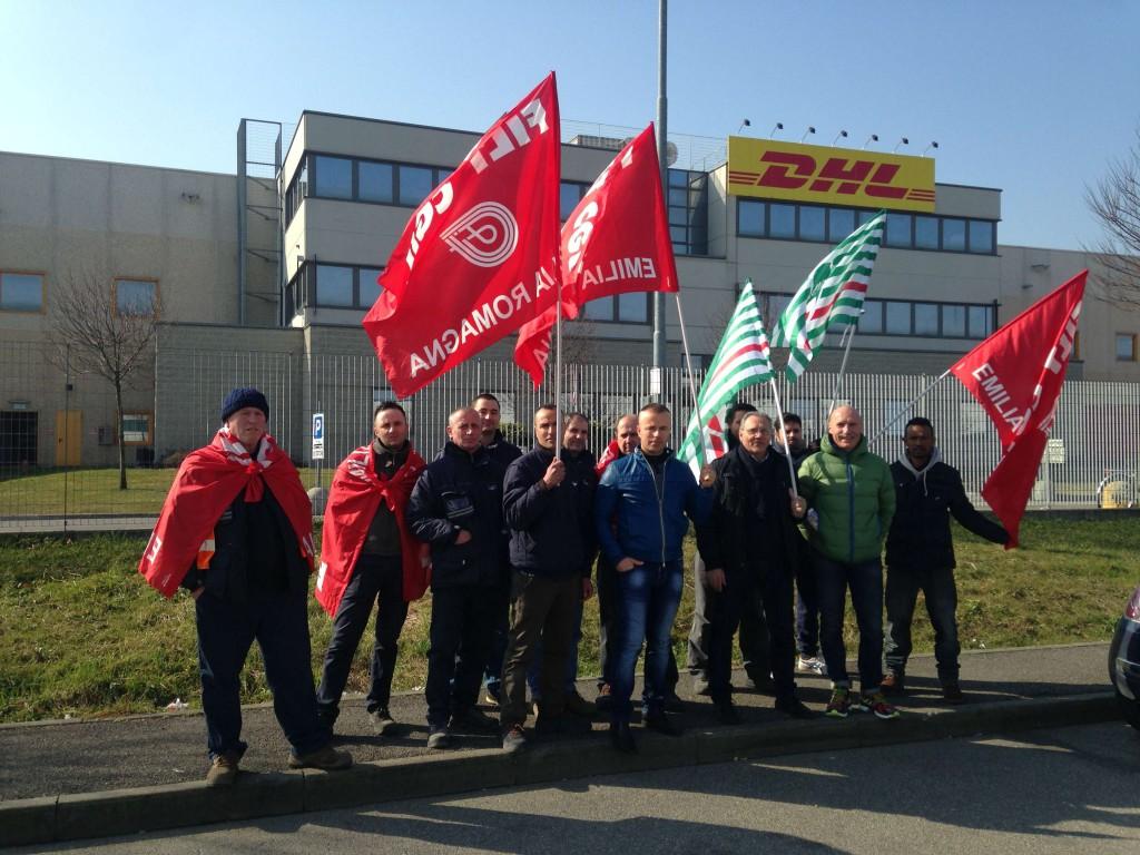 Proteste lavoratori Dhl (11)