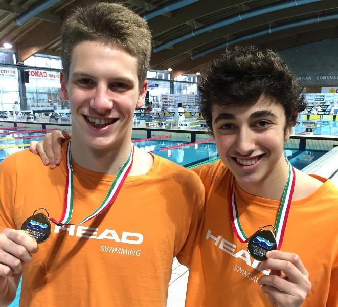 Leonardo Bricchi, a sinistra, e Francesco Vacca