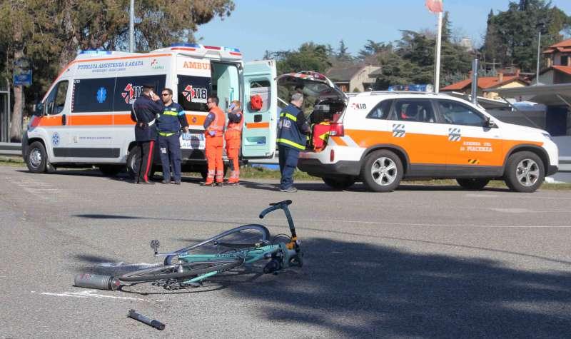 ciclista investito a Rivergaro (5)-800