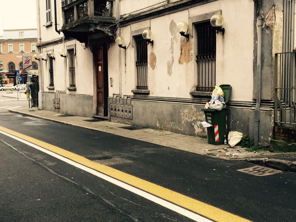 Degrado in via Torricella