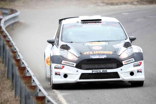 un'auto da rally