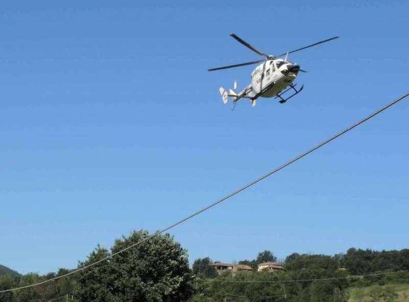 Gran Fondo: ciclista caduto in gravi condizioni trasportato a Parma