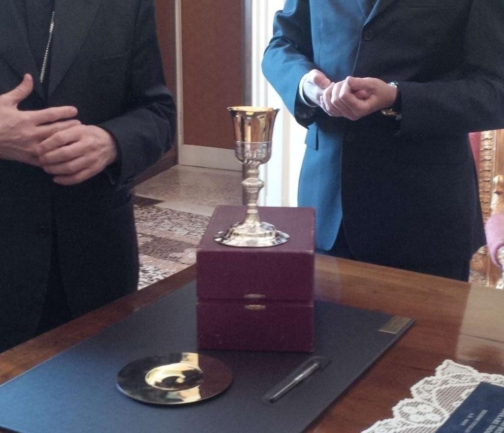 Calice donato al Duomo (1)
