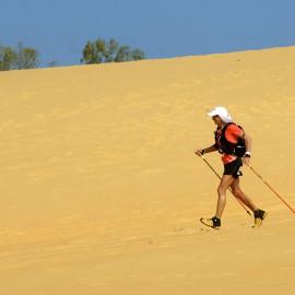 """Cinzia la regina del deserto sul podio in Senegal: """"Correre è vivere"""""""