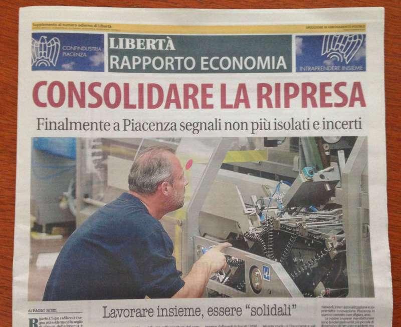 Rapporto Economia, domani con Libertà il supplemento gratuito