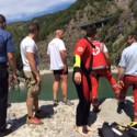 Annega a San Salvatore di Bobbio: muore un 26enne pavese. Foto