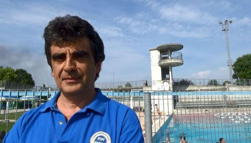 Moreno Paraboschi della Fin, Federazione Italiana Nuoto