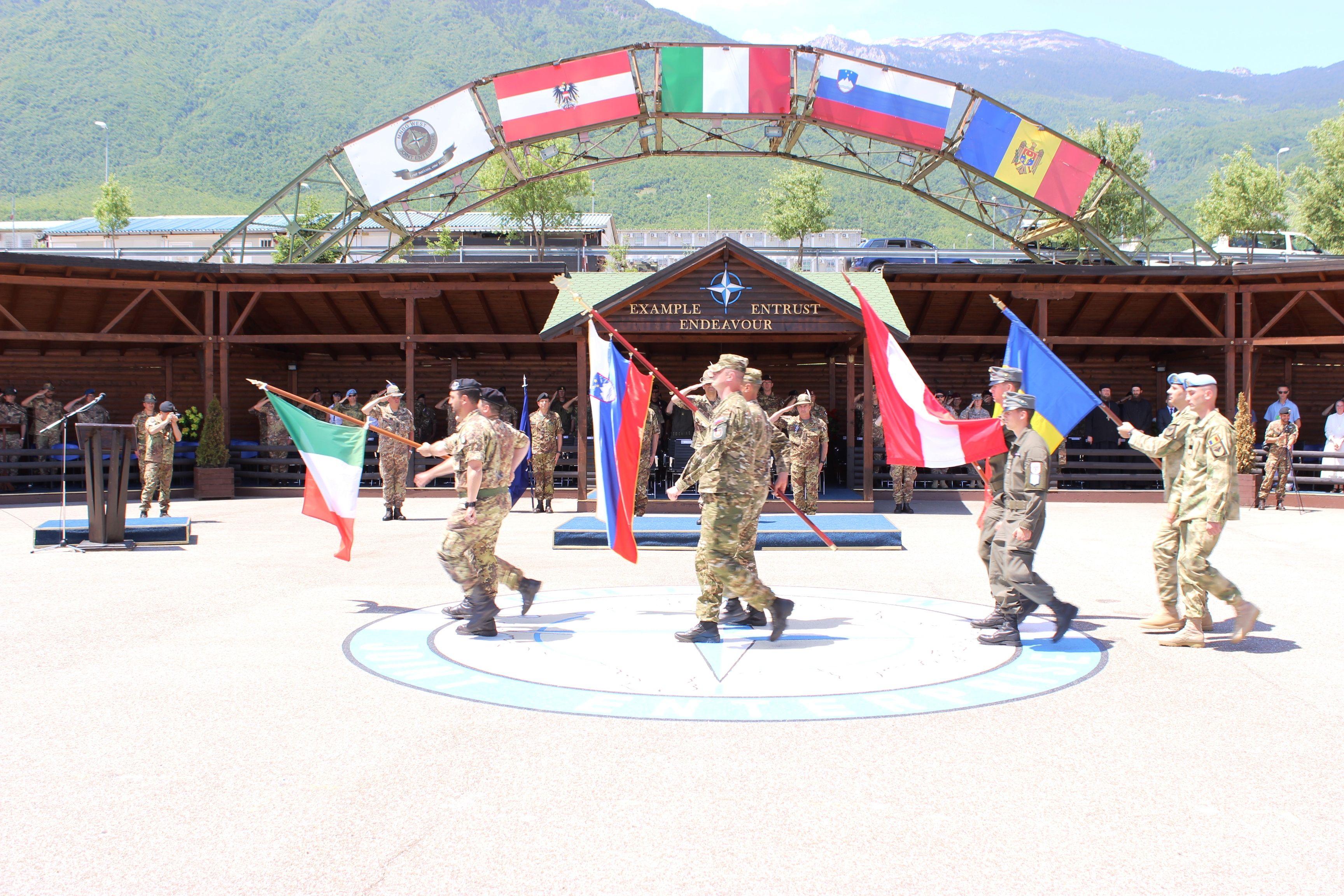 bandiere della nazioni rappresentanti il MNBG-W