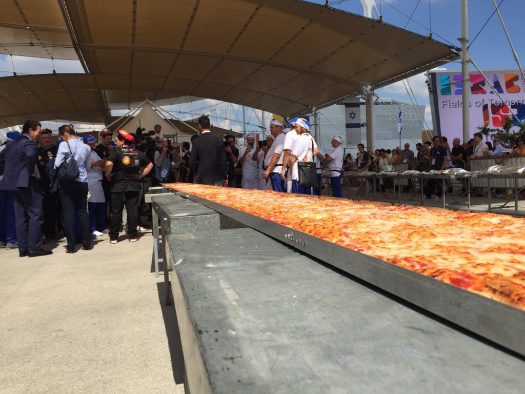 record pizza