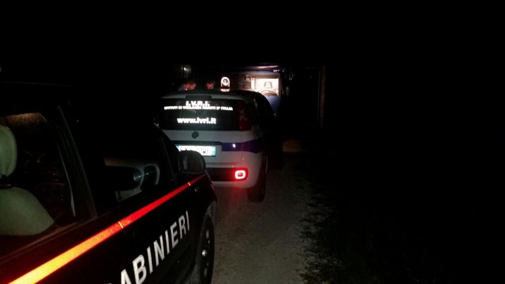 carabinieri - ivri - controlli notturni