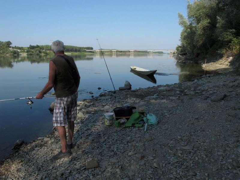 Pesca nel Po