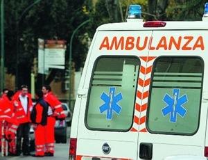 Frontale a Maiano, due feriti. Danneggiata tubatura del gas