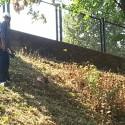 Manutenzione del verde al campo Daturi: impegnati trenta alpini