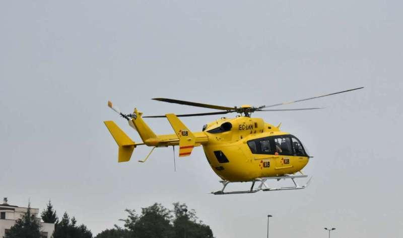 Operaio precipita da cinque metri di altezza, trasportato a Parma in condizioni gravissime