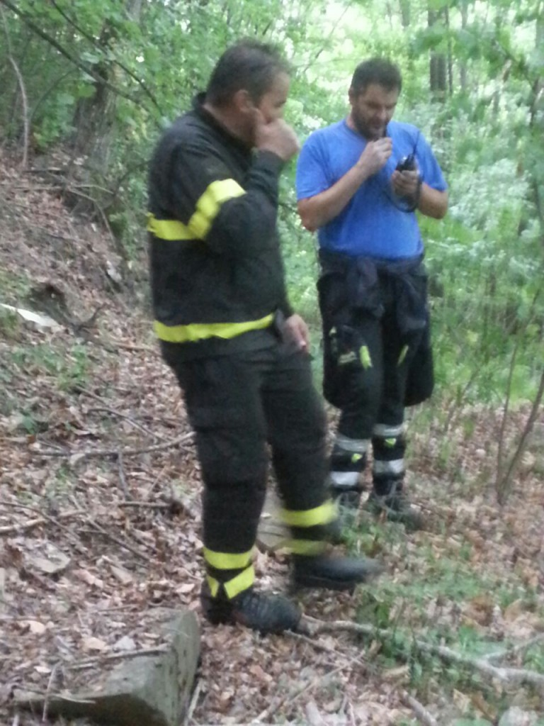 ricerca anziana scomparsa - protezione civile