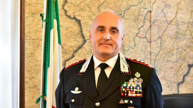 Carabinieri nuovo comandante col . Corrado Scattaretico (42)-800