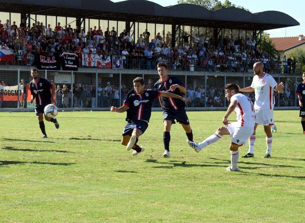 Piacenza Calcio Ciserano per P,Gentilotti (FooDELPAPA) tiro gol di FRANCHI